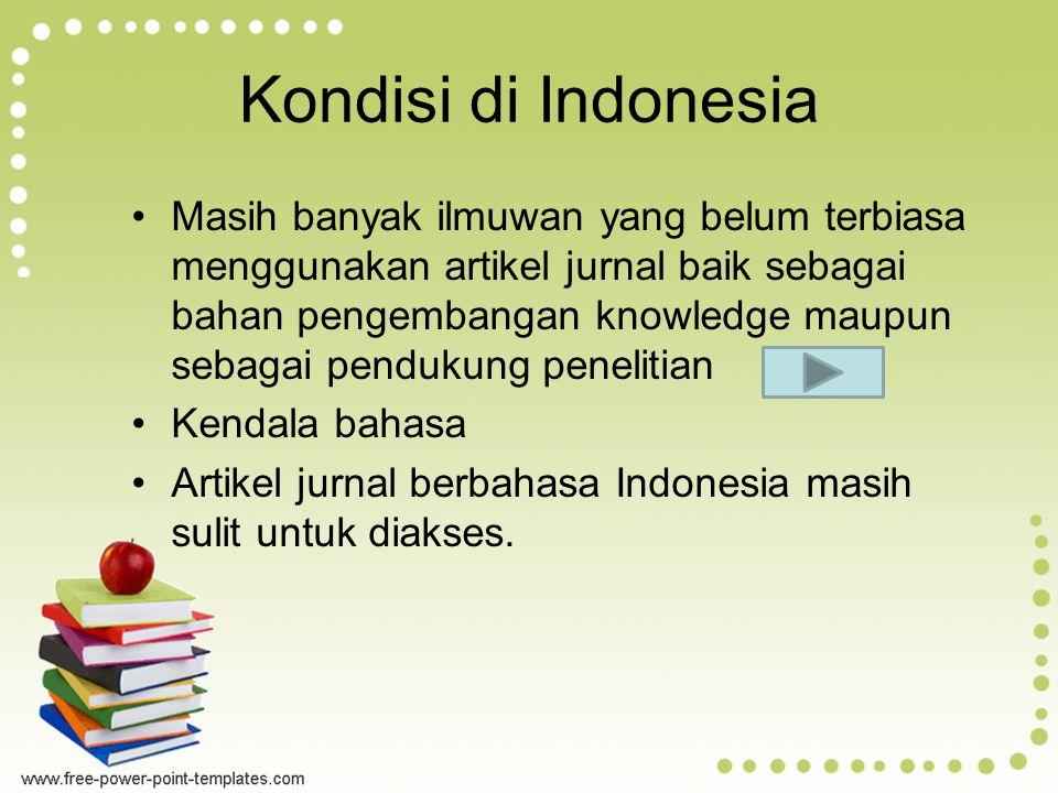 Kondisi di Indonesia