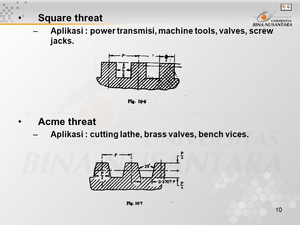 Square threat Acme threat