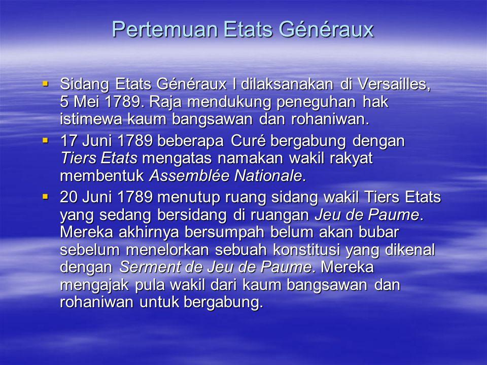 Pertemuan Etats Généraux