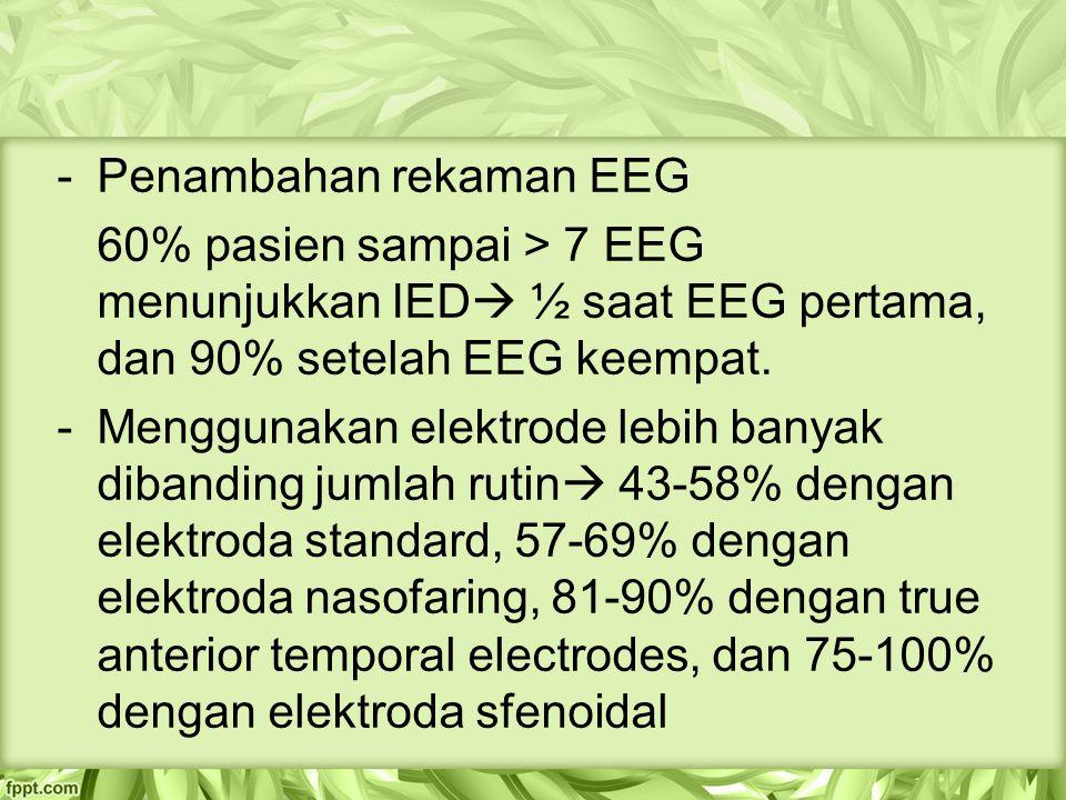 Penambahan rekaman EEG