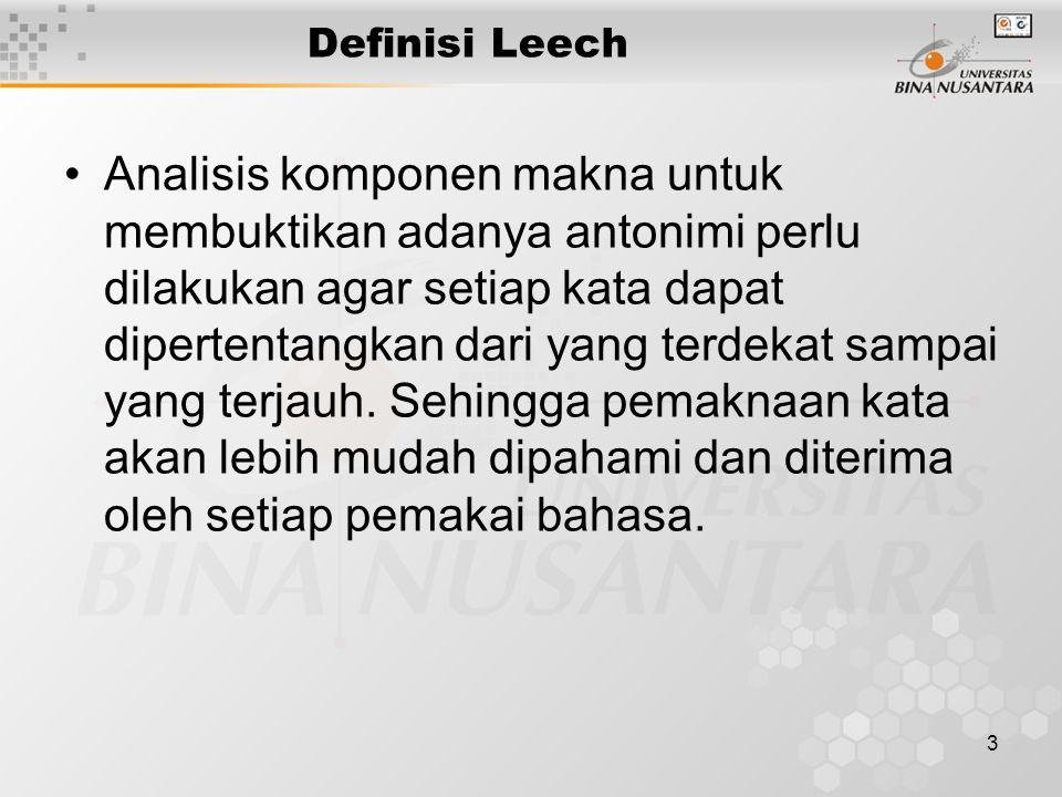 Definisi Leech