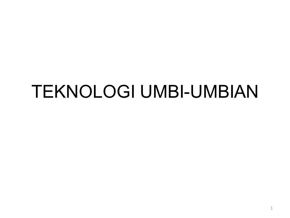TEKNOLOGI UMBI-UMBIAN