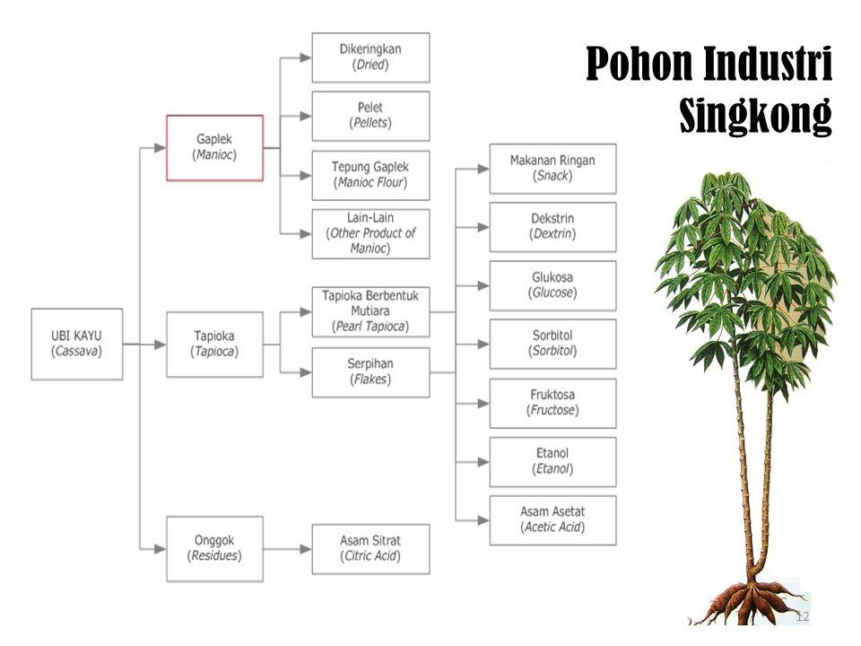 Pohon Industri Singkong