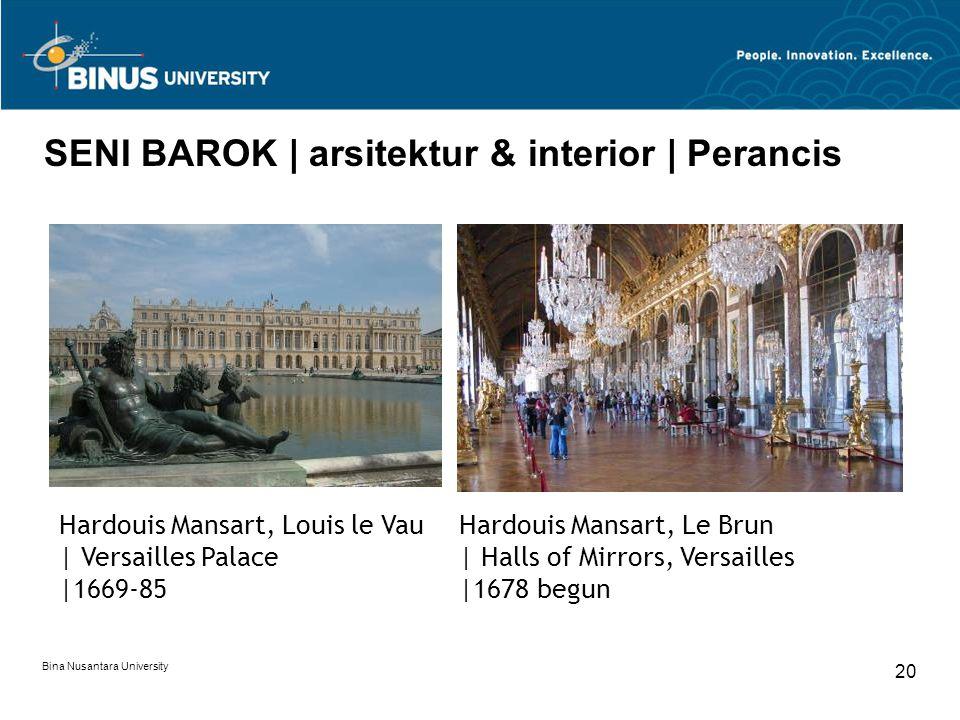 SENI BAROK | arsitektur & interior | Perancis