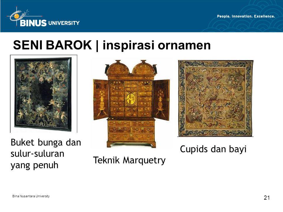 SENI BAROK | inspirasi ornamen