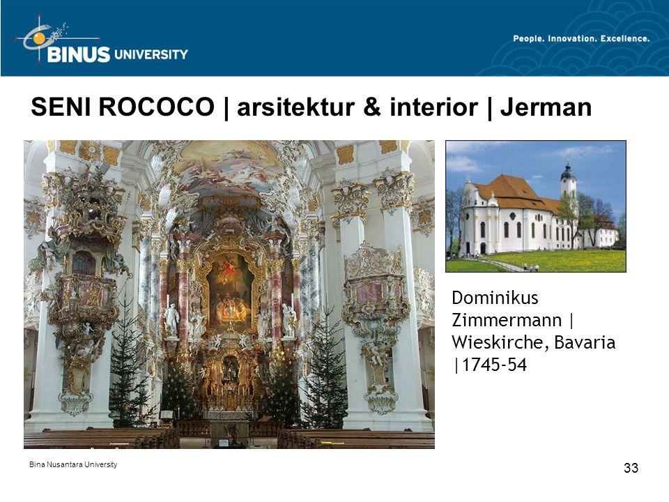 SENI ROCOCO | arsitektur & interior | Jerman