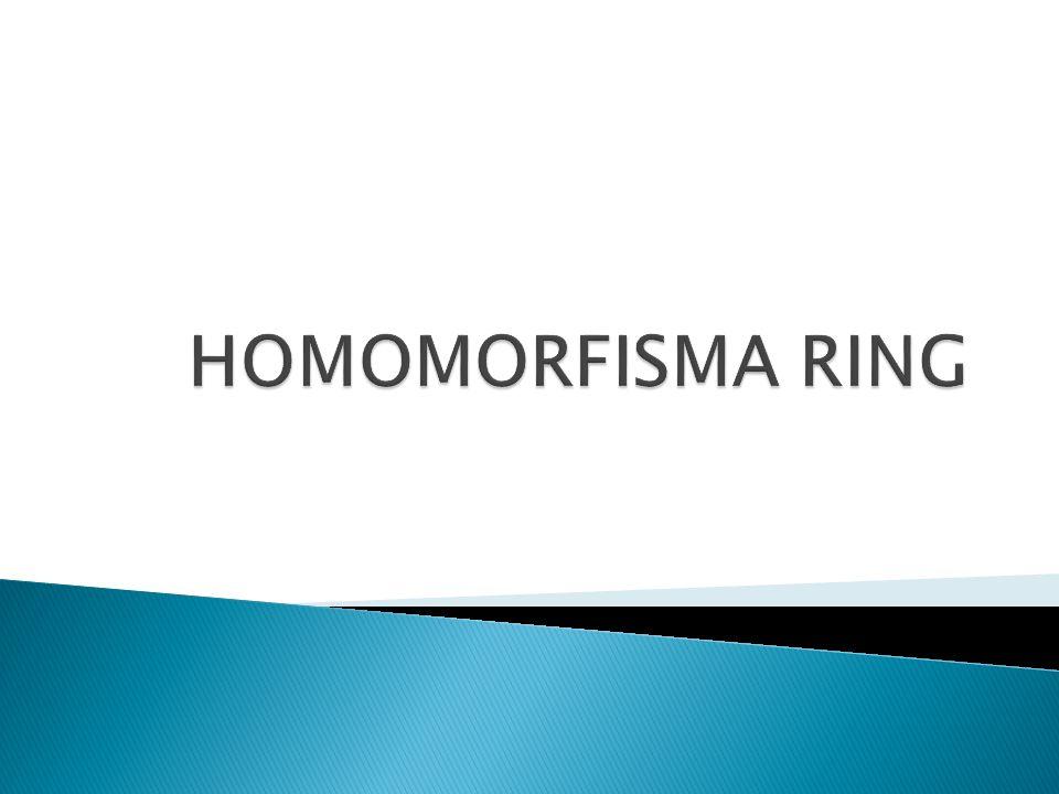 HOMOMORFISMA RING