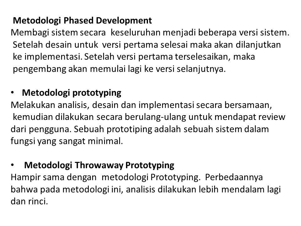 Metodologi Phased Development