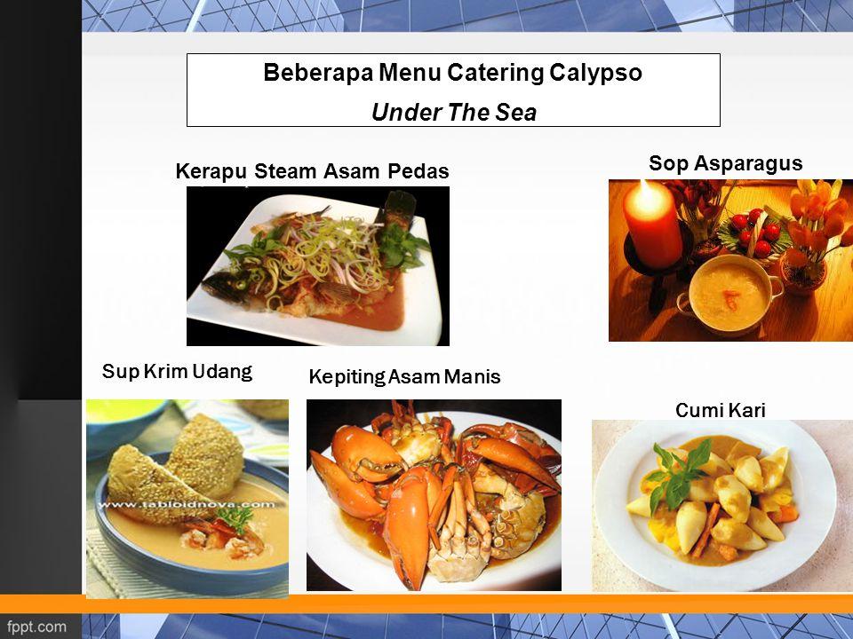 Beberapa Menu Catering Calypso