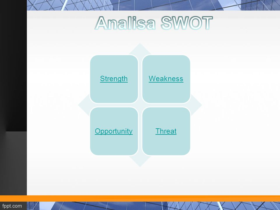 Analisa SWOT Strength Weakness Opportunity Threat