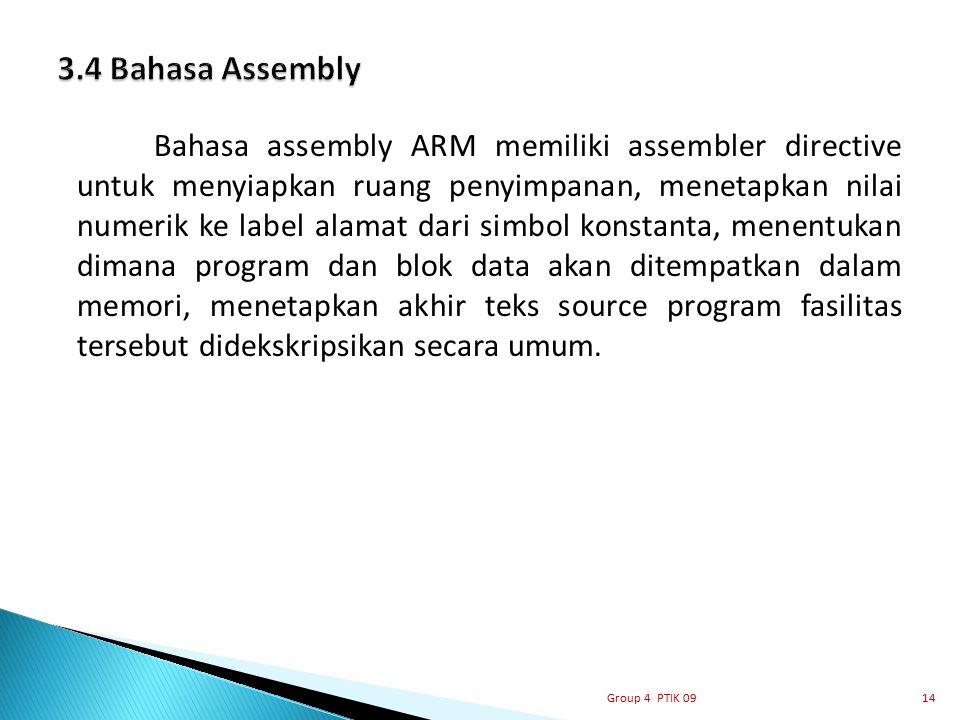 3.4 Bahasa Assembly