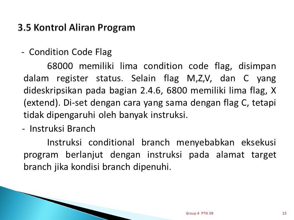 3.5 Kontrol Aliran Program