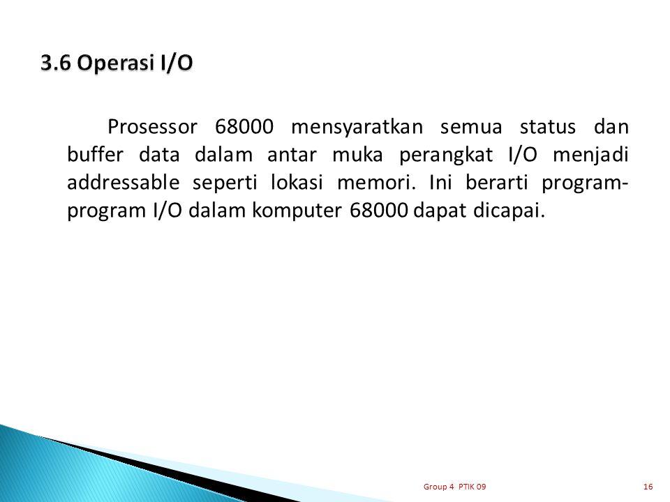 3.6 Operasi I/O