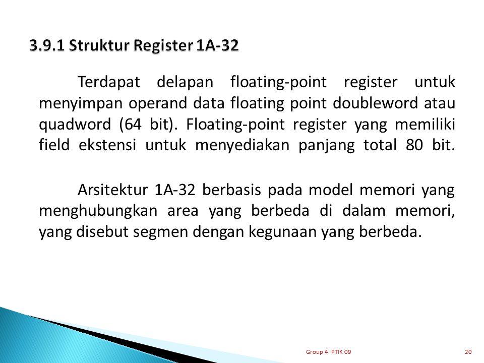 3.9.1 Struktur Register 1A-32
