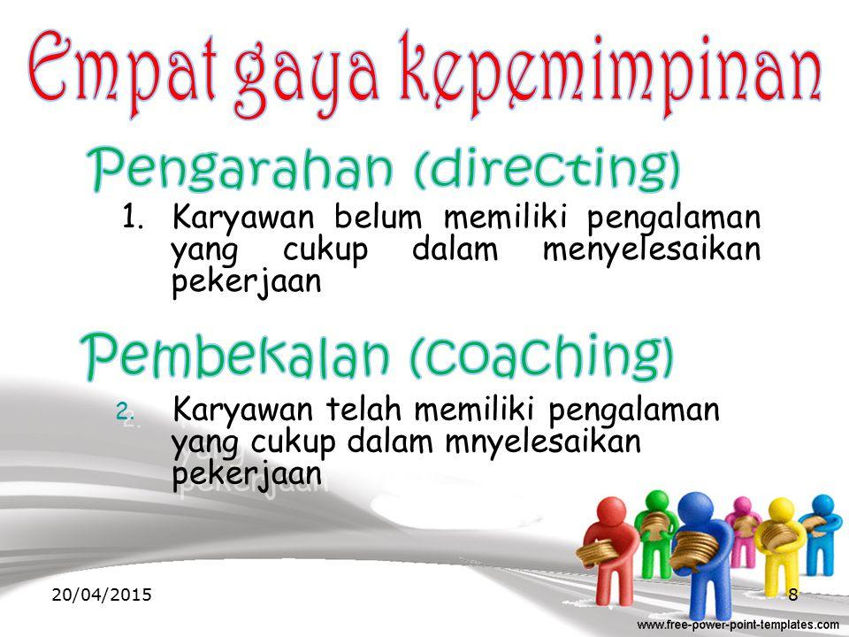 Empat gaya kepemimpinan