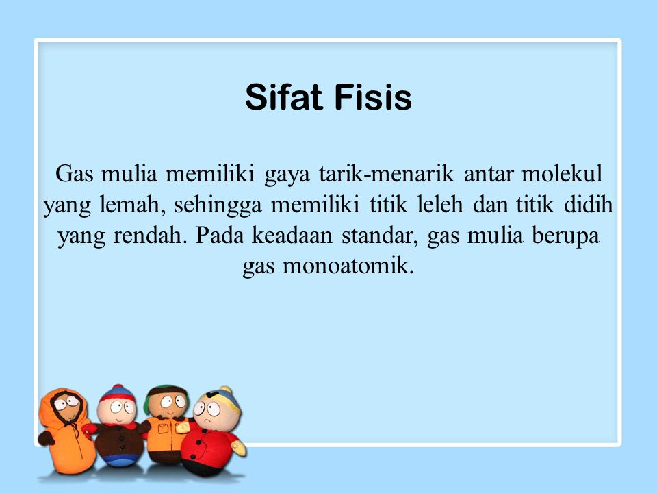 Sifat Fisis