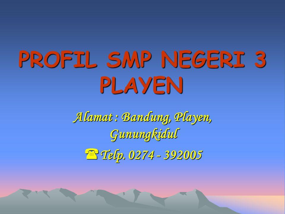 PROFIL SMP NEGERI 3 PLAYEN