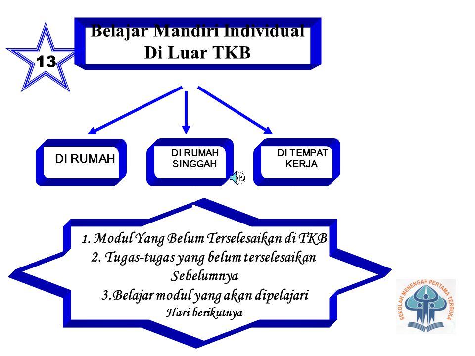 Belajar Mandiri Individual Di Luar TKB
