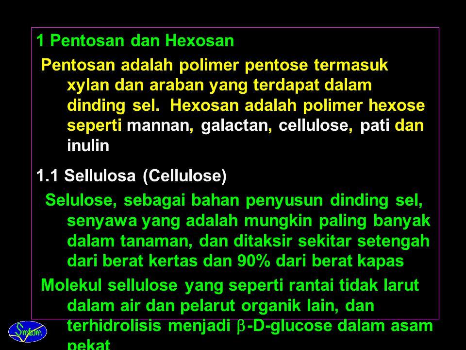 1 Pentosan dan Hexosan