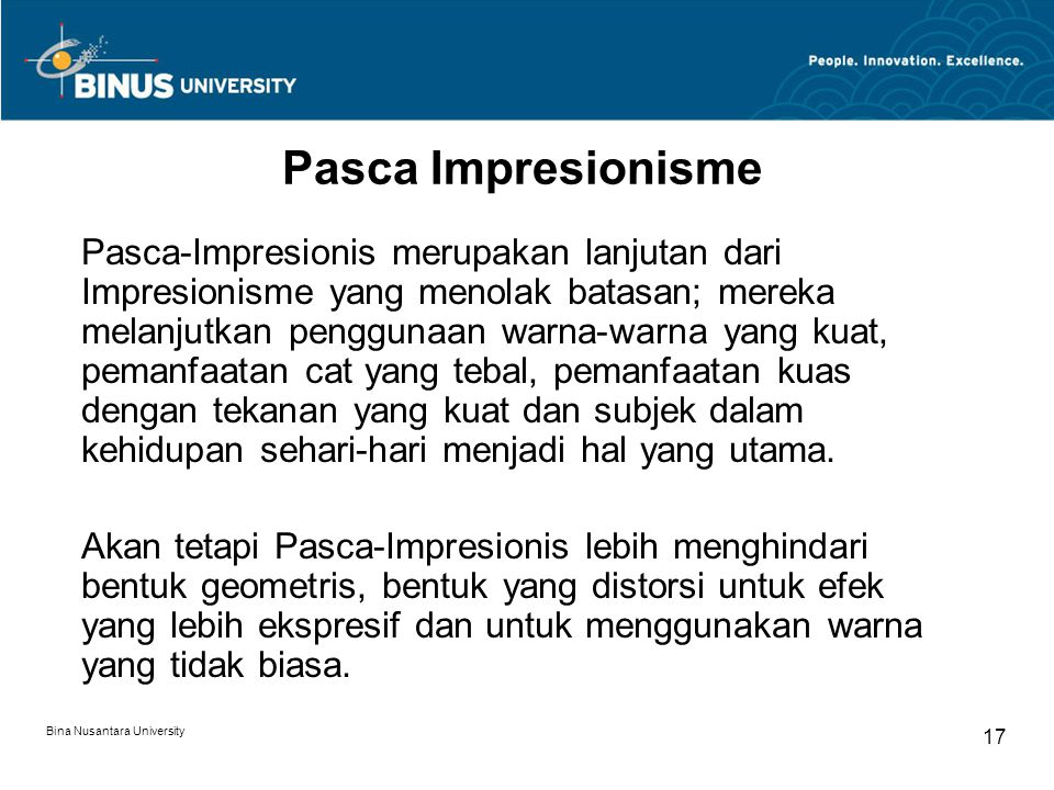 Pasca Impresionisme