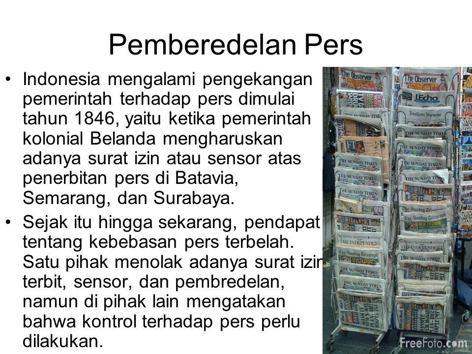 Pemberedelan Pers