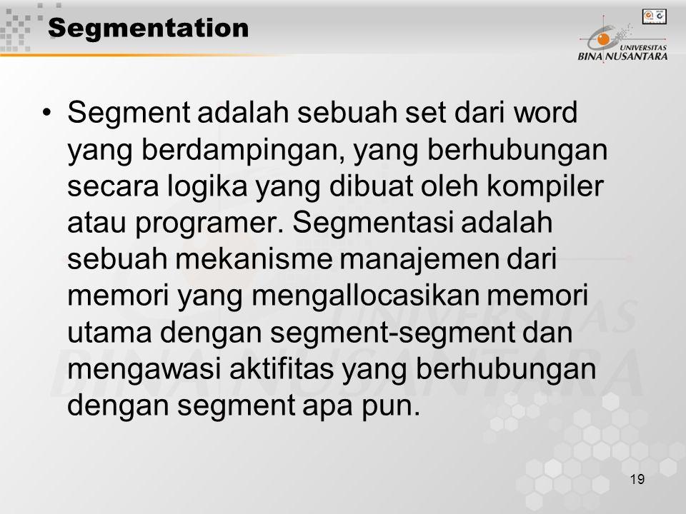 Segmentation