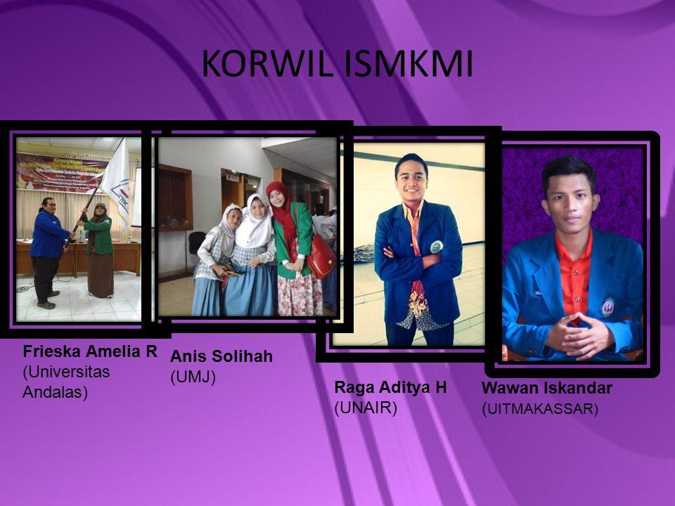 KORWIL ISMKMI Frieska Amelia R Anis Solihah (Universitas Andalas)