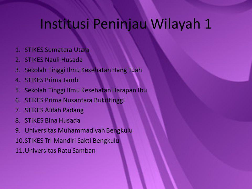 Institusi Peninjau Wilayah 1