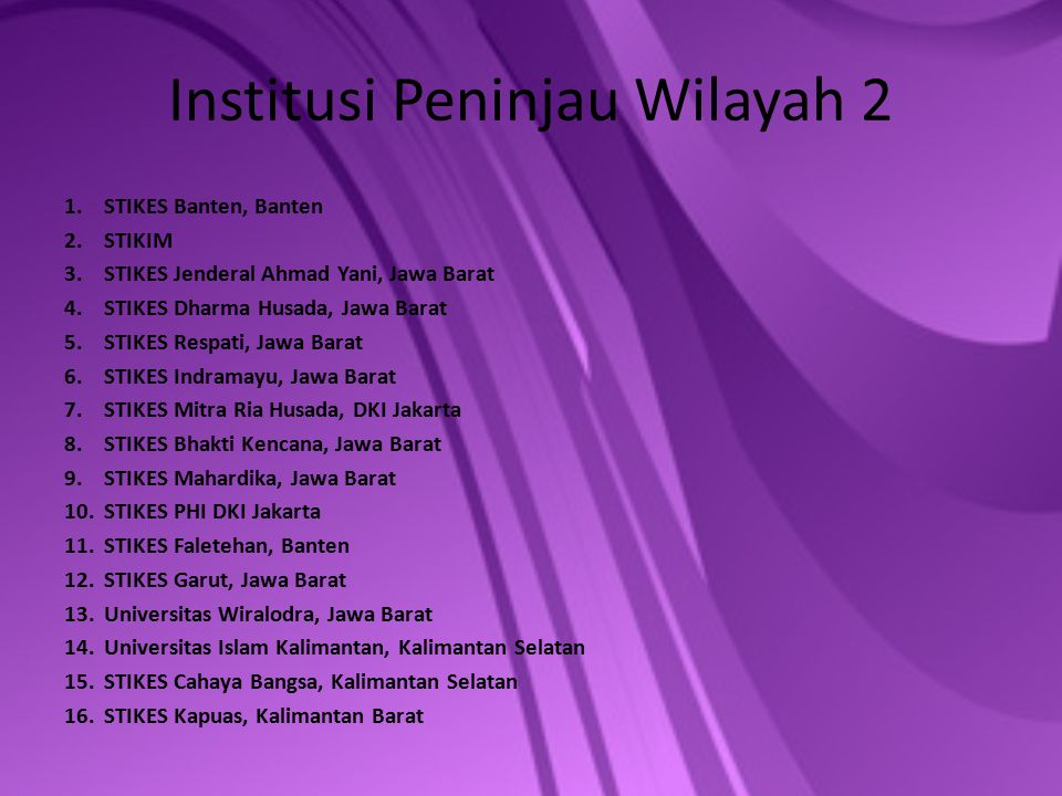 Institusi Peninjau Wilayah 2