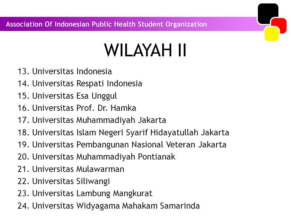 WILAYAH II