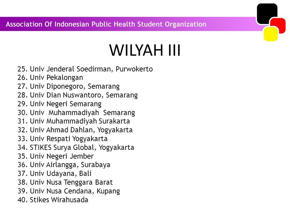 WILYAH III