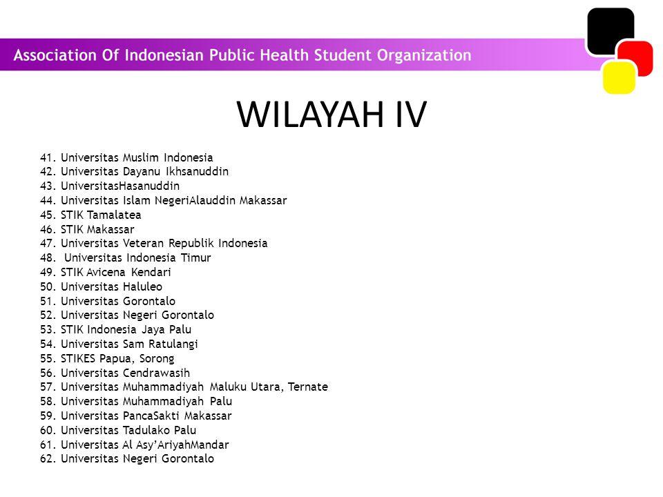 WILAYAH IV