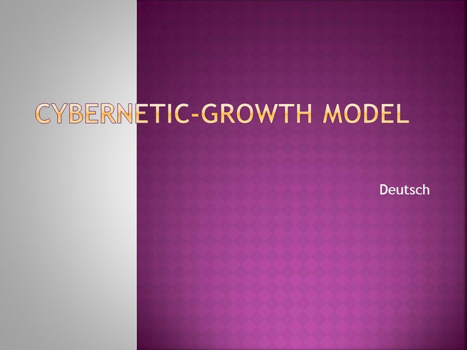 Cybernetic-Growth Model