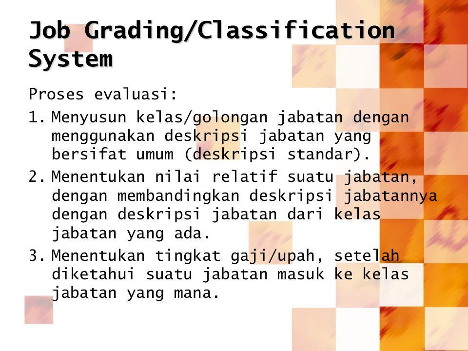 Job Grading/Classification System