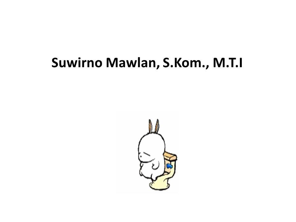 Suwirno Mawlan, S.Kom., M.T.I