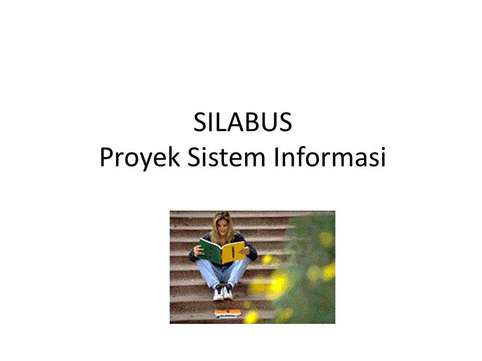 SILABUS Proyek Sistem Informasi