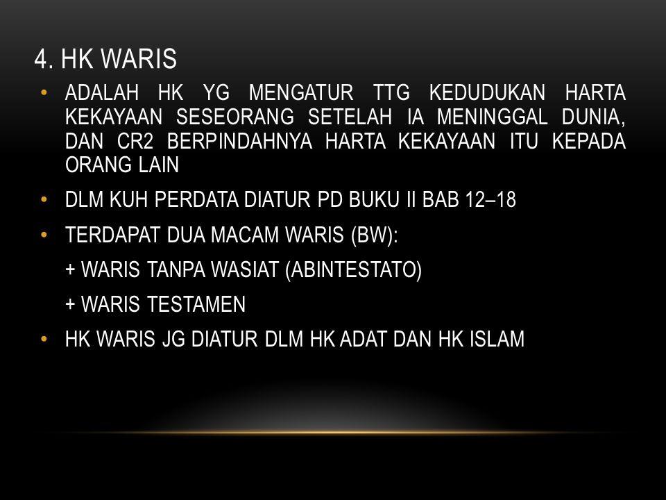 4. HK WARIS