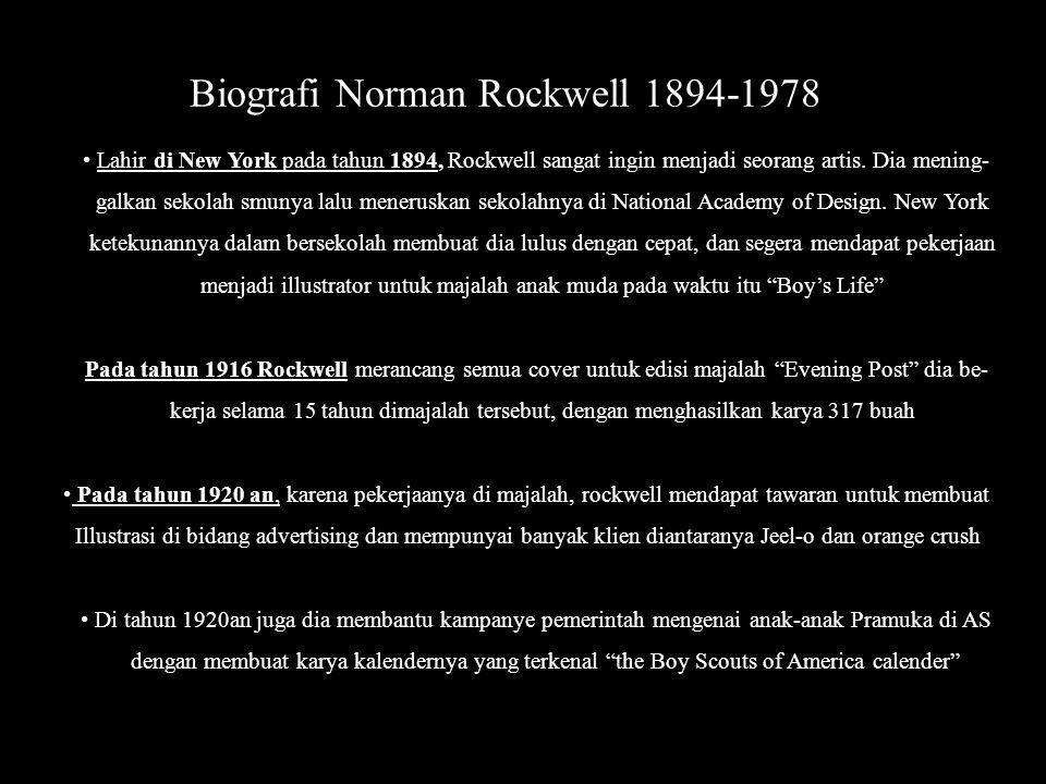 Biografi Norman Rockwell 1894-1978
