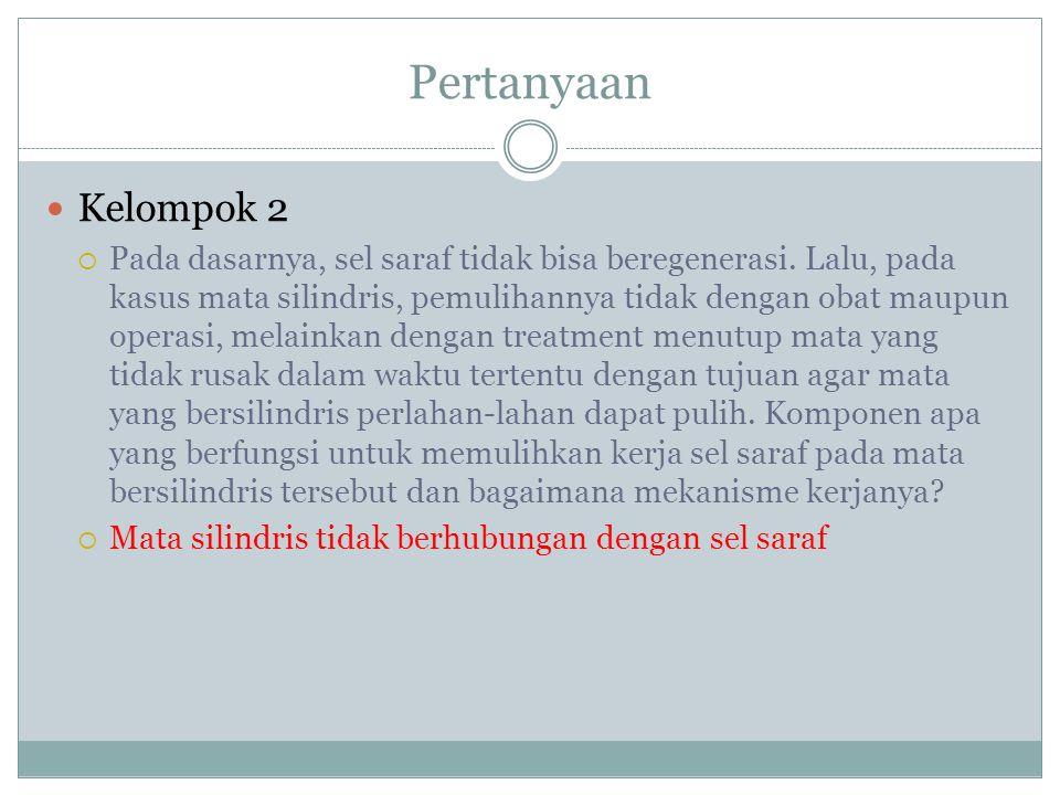 Pertanyaan Kelompok 2.