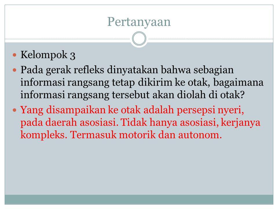 Pertanyaan Kelompok 3.
