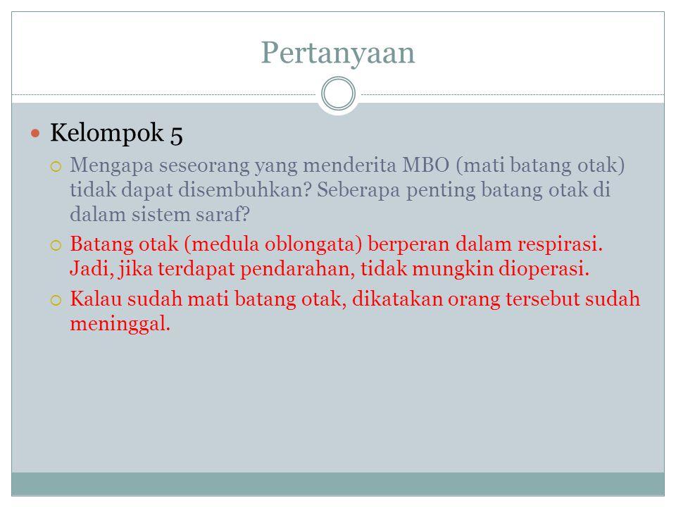 Pertanyaan Kelompok 5.