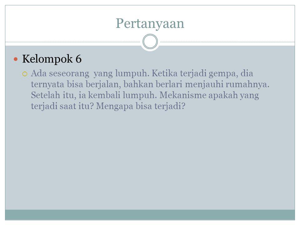 Pertanyaan Kelompok 6.