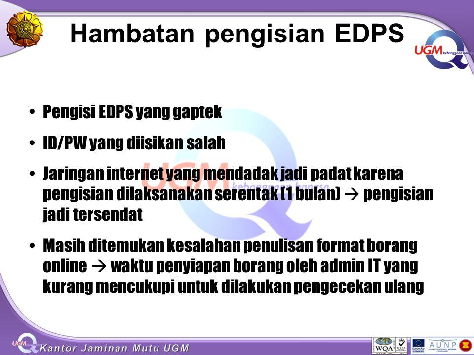 Hambatan pengisian EDPS