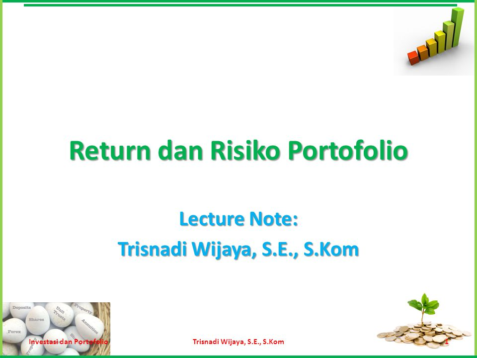 Return dan Risiko Portofolio