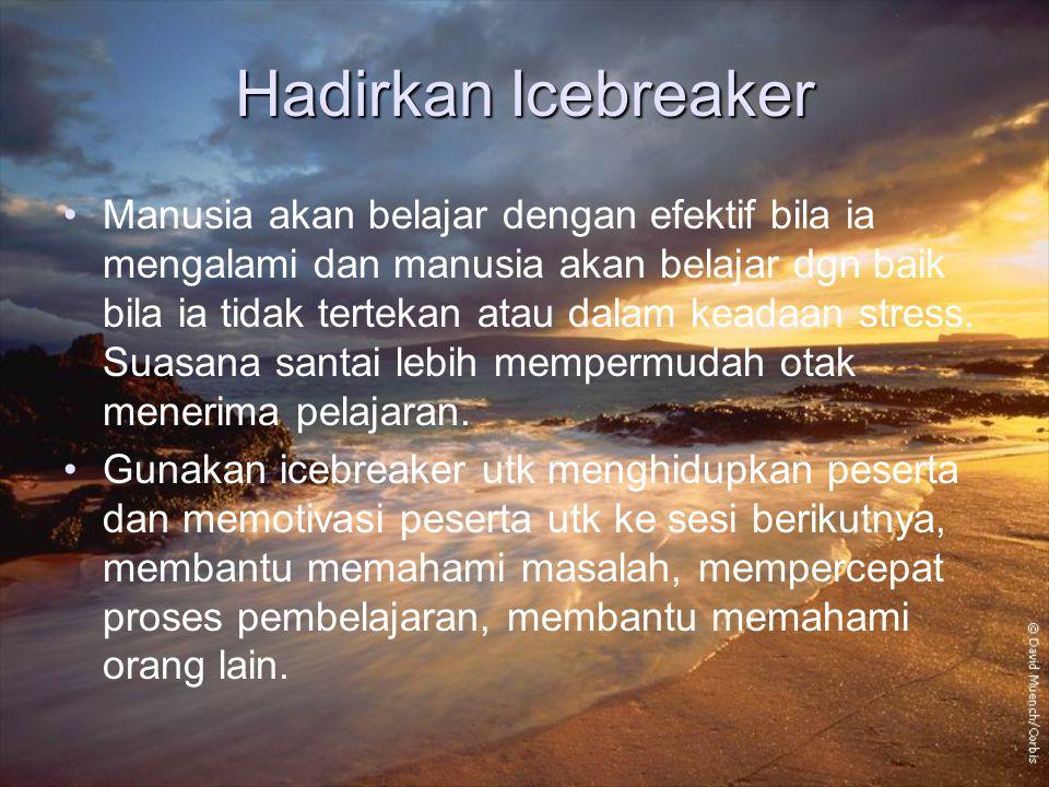 Hadirkan Icebreaker