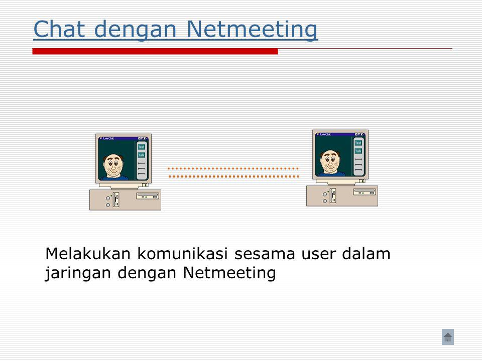 Chat dengan Netmeeting