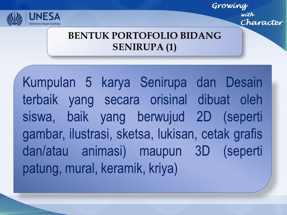 BENTUK PORTOFOLIO BIDANG SENIRUPA (1)
