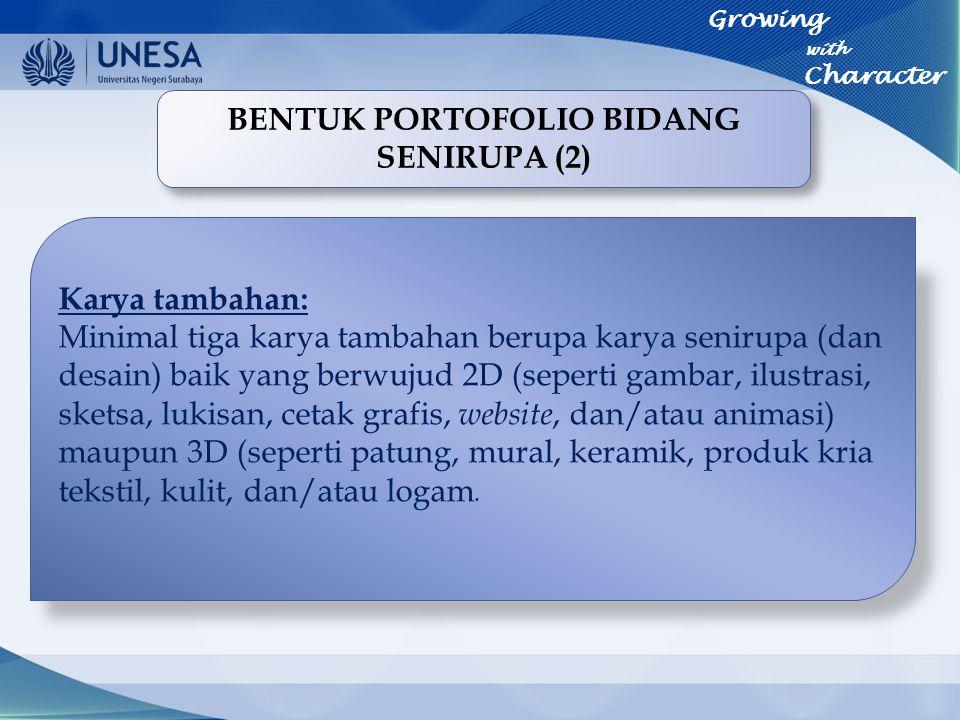 BENTUK PORTOFOLIO BIDANG SENIRUPA (2)