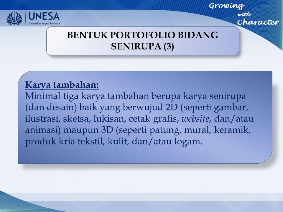 BENTUK PORTOFOLIO BIDANG SENIRUPA (3)