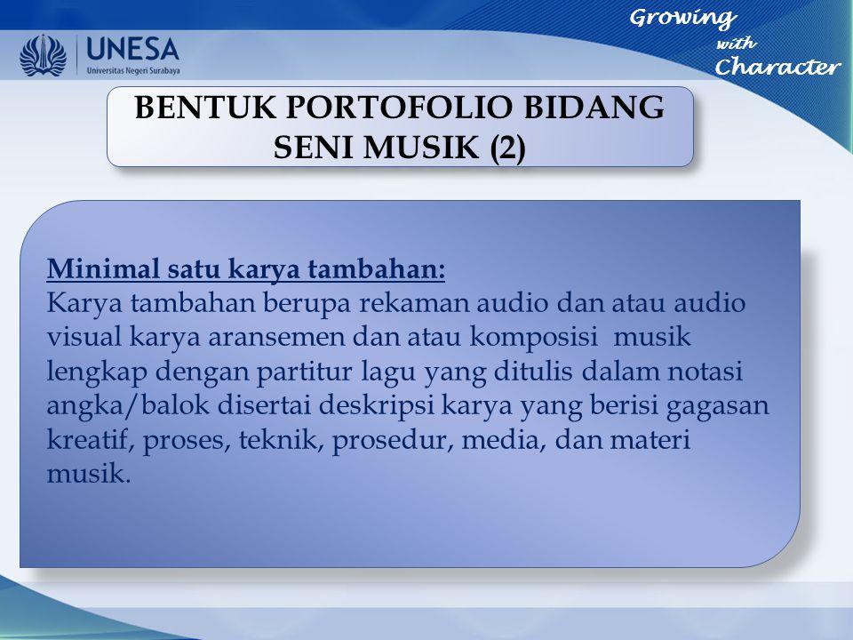 BENTUK PORTOFOLIO BIDANG SENI MUSIK (2)